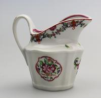 Very Pretty New Hall Porcelain Floral Jug c.1790 (2 of 8)