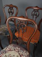 Set of 6 Mid Victorian Rosewood Dining Chairs (13 of 14)