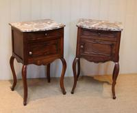 Pair Of French Walnut Bedside Cabinets (9 of 10)