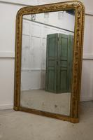Very Large French 19th Century Louis Philippe Gold Mirror (9 of 12)