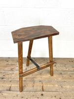 Pair of Rustic Wooden Cutler's Stools (5 of 10)