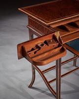 Unusual Early 20th Century French Thuya Wood Metamorphic Writing Table (9 of 13)