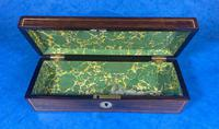 William IV Mother of Pearl Inlaid Rosewood Glove Box (13 of 14)