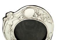 Antique Art Nouveau Sterling Silver Photo Frame 1907 (2 of 10)
