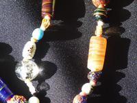 Vintage handmade  Murano Glass Bead necklace (9 of 12)