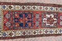 Antique Shassavan long rug 382x126cm (2 of 9)