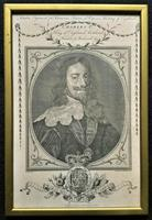 Rare Set of 12 Original 18th Century Engraving's of Kings & Queens of England (2 of 18)