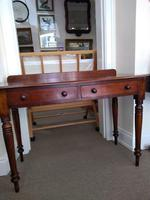 Victorian Mahogany Writing Table or Dressing Table (2 of 5)