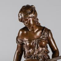 Stunning 19th Century French Bronze Sculpture by Auguste Moreau (4 of 10)
