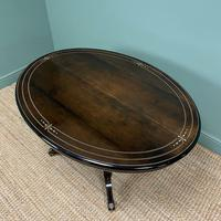 Stunning Victorian Oval Antique Dining Table (8 of 9)