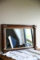Antique Rosewood Gilt Overmantle Mirror (7 of 11)