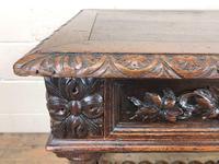 Antique Carved Oak Table (6 of 10)