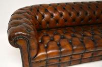 Antique Deep Buttoned Leather Chesterfield Sofa (9 of 9)