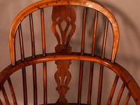 A Set of 4 Yew Tree Windsor Chairs Rockley Workshop (5 of 21)