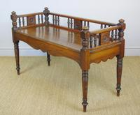 Good Aesthetic Mahogany Window Seat by Henry Pitts of Leeds (9 of 12)