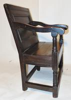 Late 17th Century Oak Wainscot Chair (10 of 11)