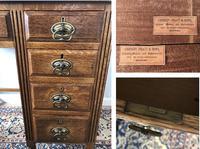 Small Arts & Crafts Oak Desk c.1907 (5 of 6)