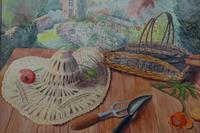Still life in the artists garden by Joan Warburton (3 of 6)