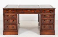 Quality Victorian Mahogany Partners Desk (2 of 9)