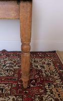 Antique Pine Table with Turned Legs (9 of 11)