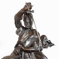 Italian Bronze Equestrian Sculpture of Emanuele Filiberto, Duke of Savoia, by Baron Carlo Marochetti (10 of 17)