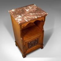 Antique Nightstand, English, Walnut, Bedside Cabinet, Gillow & Co, Victorian (7 of 12)
