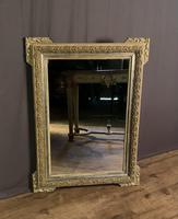 Decorative French Painted & Silver Gilt Mirror (3 of 6)