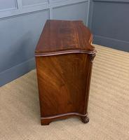 19th Century French Flame Mahogany Commode (4 of 20)