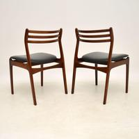 Pair of Danish Rosewood Chairs by P.E. Jørgensen for Farso Stolefabrik (6 of 12)
