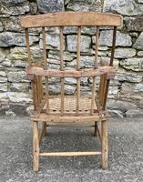 Antique Primitive Westcountry Stick Back Windsor Chair (6 of 18)