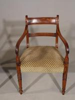 Attractive Set of 8 '6+2' Regency Period Mahogany Chairs (4 of 7)