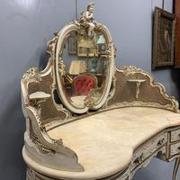 Grand Scale Italian Painted Dressing Table (8 of 8)