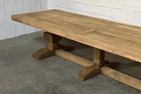 Enormous French Bleached Oak Farmhouse Dining Table (31 of 38)