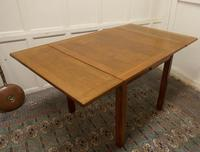 Golden Oak Cottage Draw Leaf Table (5 of 7)