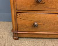 Victorian Walnut Chest of Drawers (6 of 13)