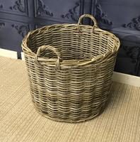 Wicker Log Basket (3 of 4)