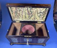Regency Rosewood Twin Canister Tea Caddy (6 of 17)