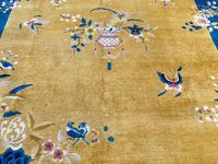 Antique Chinese Art Deco Carpet 3.15m x 2.71m (4 of 13)