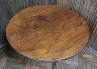 Georgian Oak Cricket Coffee Table (5 of 6)