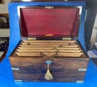 Victorian  Rosewood Stationary Box (14 of 33)