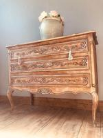 French Antique Drawers / Rustic Chest of Drawers / Provincial Chest of Drawers / Sideboard (7 of 8)