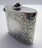 Beautiful Antique Victorian 1895 Solid Sterling Silver English CHESTER Vesta Case Match Box (6 of 9)