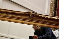 Large Rectangular Giltwood Mirror (5 of 7)