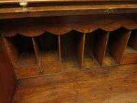 Antique Oak Roll Top Writing Desk, Tambour Front Bureau Desk (6 of 20)