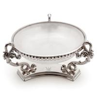 Victorian Silver Plated Butter Preserve Dish with Opeline Glass Liner (2 of 6)