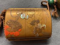 Antique Edo Japanese Inro, Netsuke & Ojime - Kansai and Jokosai (17 of 20)