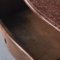 Marble Top Walnut Chest of Drawers (7 of 15)