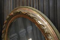 Pair of Gilt French Oval Mirrors (6 of 7)