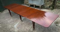 Very Good Late Georgian Extending Dining Table Seats 14/16 (2 of 21)