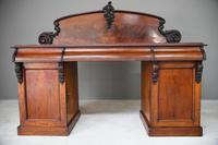 Victorian Mahogany Pedestal Sideboard 7297875